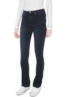 Calça Jeans Calvin Klein Jeans Flare Sculped Azul-Marinho