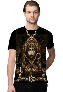 Camiseta Stompy Pyramids Masculina - Masculino-Preto