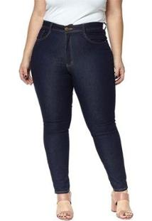 Calça Jeans Denuncia Skinny Plus Size Feminina - Feminino