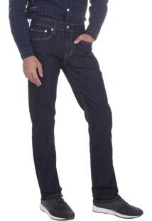Calça Jeans Levis 511 Slim Fit Azul Escuro