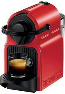 Cafeteira Expresso Nespresso Inissia Ruby Red 110 V