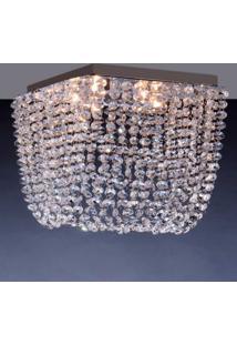 Luminária De Sobrepor 4,5W G9 Espelhado Pen4Lzsqg9 Bronzearte