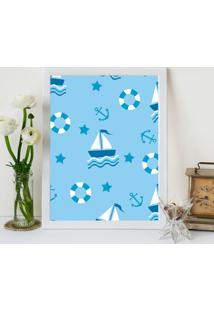 Quadro Love Decor Decorativo Infantil Mar