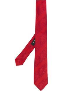 Etro Gravata Com Padronagem - Vermelho