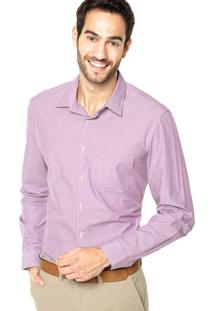 Camisa Richards Geo Rosa