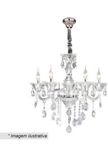 Lustre Maria Thereza- Cristal & Incolor- 66X44X26Cm