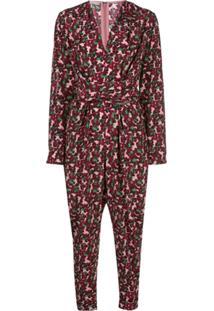 Stella Mccartney Floral Tie-Waist Jumpsuit - Estampado