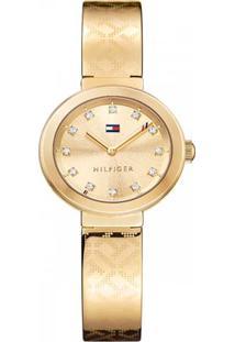 0c2748587b9 ... Relógio Tommy Hilfiger Feminino Aço Dourado - 1781720
