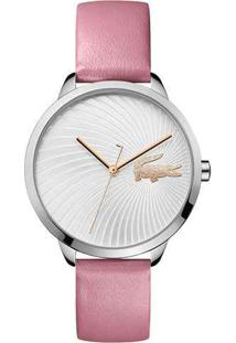 Relógio Lacoste Feminino Couro Rosa - 2001057