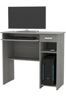 Escrivaninha / Mesa Para Computador Viena 1 Gaveta - Carvalho - Ej Móveis
