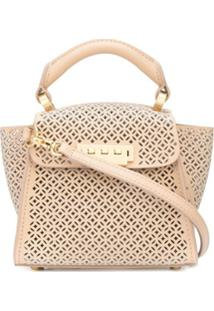 Zac Zac Posen Bolsa Transversal Eartha Mini - Neutro