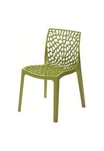 Cadeira Gruver Polipropileno Verde - 23075 Verde