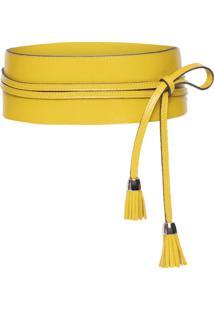 Cinto Faixa Feminino - Amarelo