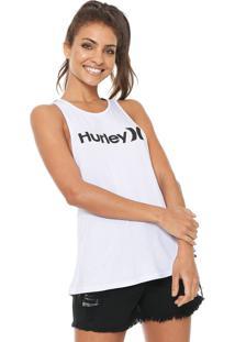 Regata Hurley Logo Branca