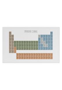 Jogo Americano (Kit 4 Unidades) Nerderia E Lojaria Tabela Periodica Colorido