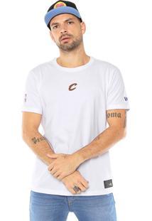 Camiseta New Era Cleveland Cavaliers Branca
