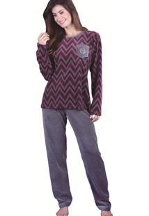 Pijama Monthal Multicolorido - Multicolorido - Feminino - Dafiti