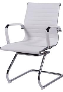 Cadeira Office Eames Esteirinha Fixa Or-3301 – Or Design - Branco