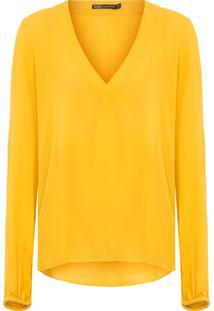 Blusa Feminina Elke - Amarelo