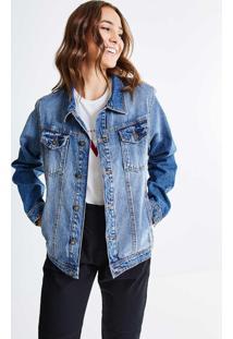 Jaqueta Over Em Jeans