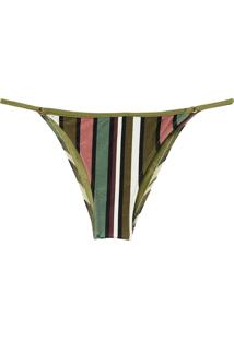Calcinha Rosa Chá Lu Stripes (Listras, M)