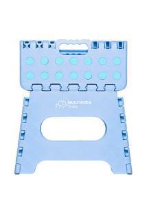 Banquinho Multiuso Dobrável Azul Multikids Baby - Bb1009