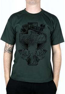 Camiseta Bleed American Faith Musgo