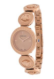 Versace Relógio Medusa - Rosa
