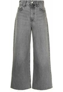 Nobody Denim Calça Jeans Pantalona Skylar - Cinza