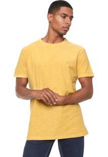 Camiseta Reserva Flame Estonada Amarela