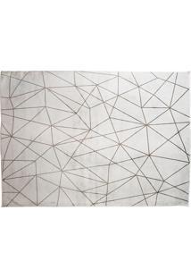 Tapete Belga Geometric Desenho 01 2.00X3.00 - Edantex - Cinza