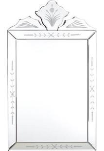 Espelho Veneziano Retangular 50X30Cm