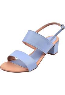 Sandália Donna Santa Lisa Fosca Azul Claro