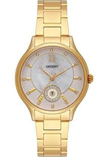 Relógio Orient Feminino Social Analógico - Feminino-Dourado