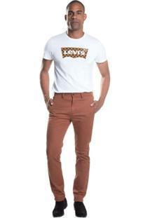Calça 511 Slim Chino Levis - Masculino-Marrom