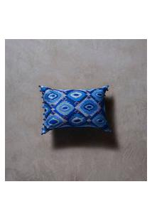 Capa De Almofada Neri 35X50 Cor: Azul - Tamanho: Único