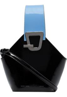 Danse Lente Bolsa Saco 'Johnny' Mini - Preto