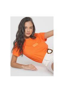 Camiseta Forum Logo Laranja