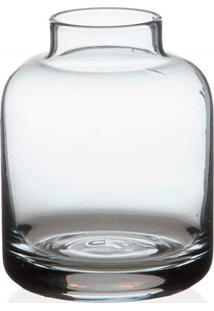 Vaso Em Vidro Valencia Transparente 8Cm
