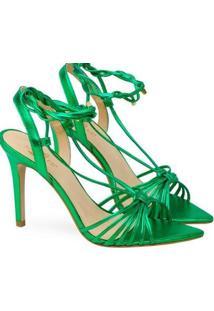 Sandalias Saltare Hebe Feminina - Feminino-Verde