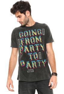 Camiseta John John Party Grafite