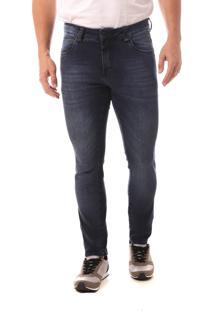 Calça Jeans Denuncia Skinny Azul