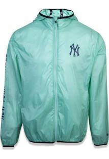 Jaqueta New Era Windbreak New York Yankees Verde