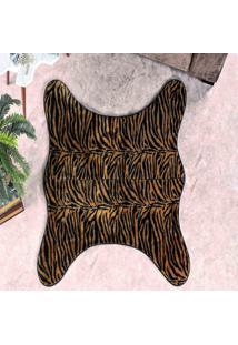 Tapete Dourados Enxovais Formato Cacador Tigre