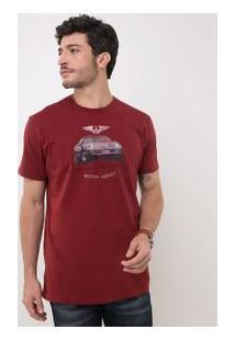 Camiseta Comfort Com Estampa