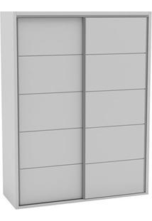 Guarda-Roupa 2 Portas Deslizantes Tw101 Bb Branco Brilho - Dalla Costa