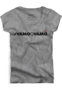 Camiseta Reserva Vamoqvamo Feminina - Feminino