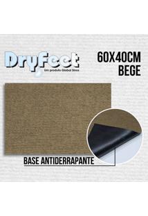 Tapete Dryfeet Bege 60X40Cm