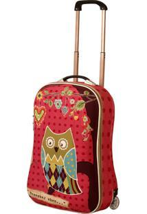 Mochila De Carrinho Em Lona Owl