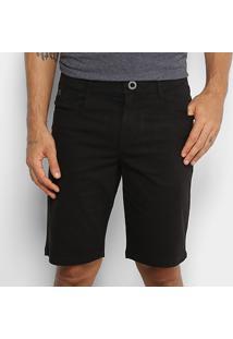 Bermuda Jeans Hang Loose Typo Masculina - Masculino